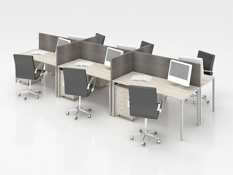 biuro baldai nuoma